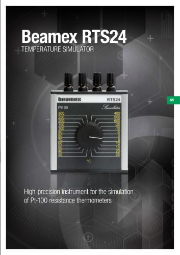 Brochure - Beamex RTS24 Temperature simulator