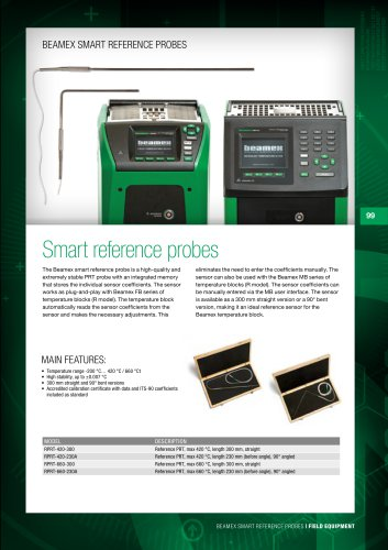 Brochure - Beamex smart reference probes