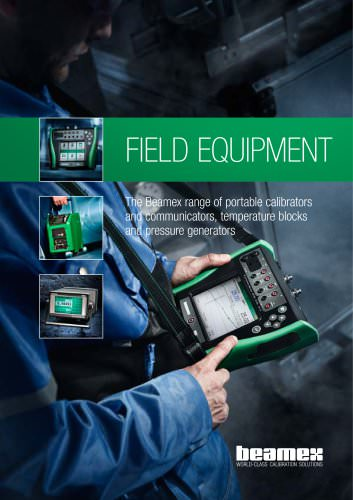 Brochure - Field Equipment