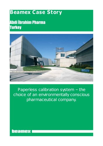 Case Story Abdi İbrahim Pharma- Environmentally conscious with paperless calibration