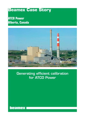 Case Story ATCO Power - Generating efficient calibration for ATCO Power