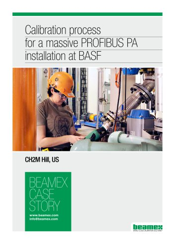 Case Story, CH2M Hill - Calibration process for a massive Profibus PA installation at BASF