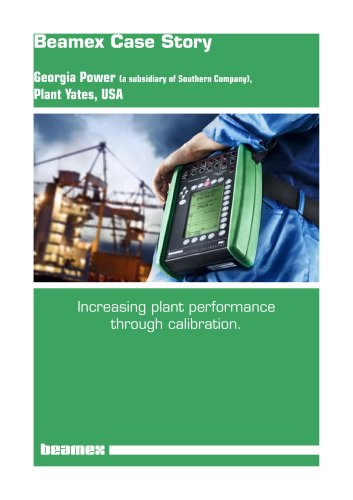 Case Story Georgia Power- Increasing Plant Performance through Calibration