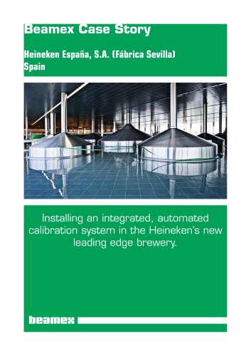Case Story Heineken: Installing an integrated, automated calibration system