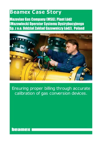 Case Story Mazovian Gas Company- Ensuring proper billing through accurate