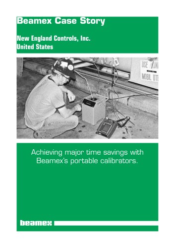 Case Story New England Controls- Achieving major time savings
