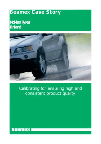 Case Story Nokian Tyres- Ensuring high and consistent product quality