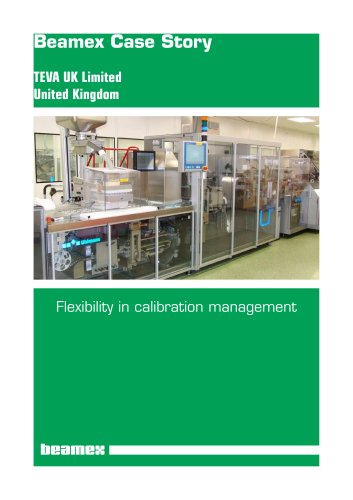 Case Story Teva UK- Flexibility in calibration management
