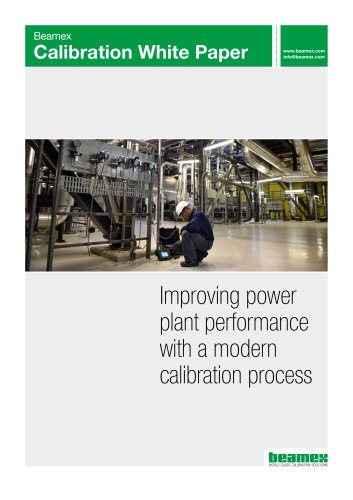 Improving power plant performance with a modern calibration process