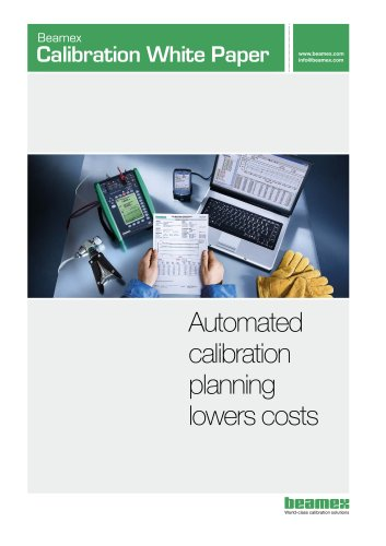 White Paper- Automated Calibration Planning Lowers Costs