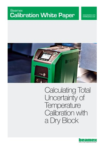 White Paper- Calculating Total Uncertainty of Temperature Calibration with a Dry Block