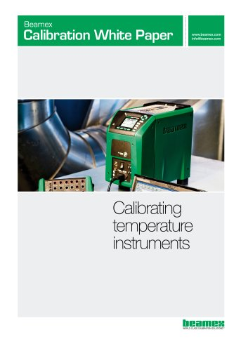 White Paper- Calibrating Temperature Instruments