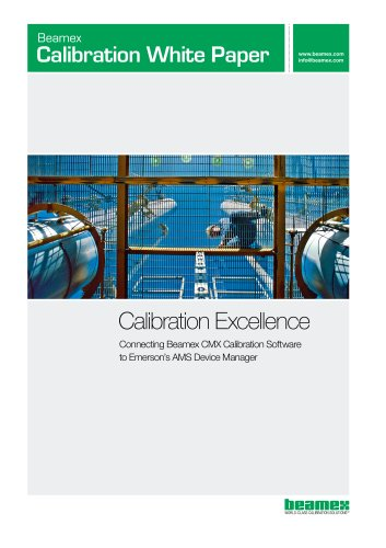 White Paper - Calibration Excellence