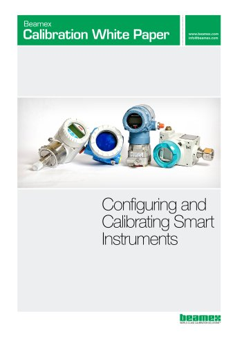 White Paper - Configuring and Calibrating Smart Instruments