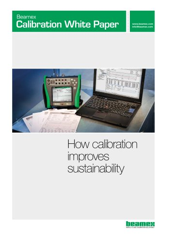 White Paper - How calibration improves sustainability