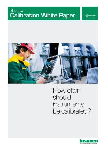 White Paper- How Often Should Instruments be Calibrated?