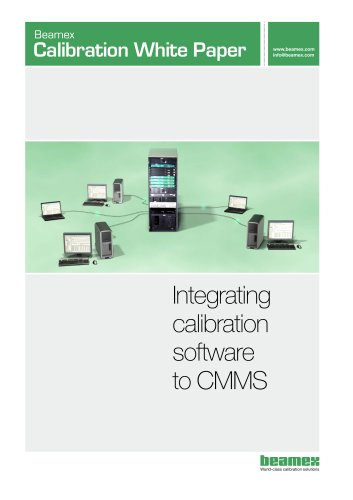 White Paper- Integrating Calibration Software to CMMS