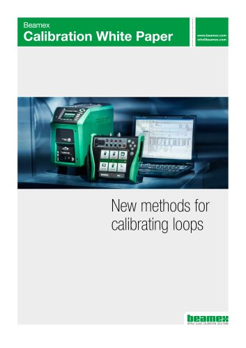 White Paper - New methods for calibrating loops