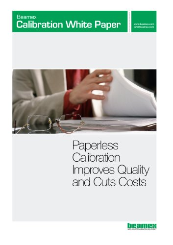 White Paper- Paperless Calibration Improves Quality and Cuts Costs