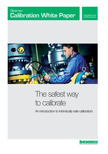 White Paper- The Safest Way to Calibrate