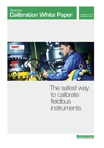 White Paper- The Safest Way to Calibrate Fieldbus Instruments