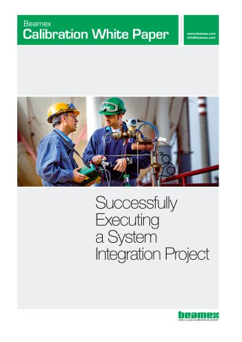 White Paper- Successfully Executing a System Integration Project