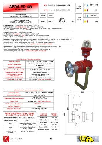 APD/LED 4W APD100 + EVA50