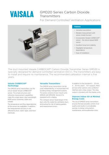 CO₂ Transmitter Series GM20