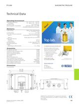 Combined Pressure, Humidity and Temperature Transmitter for Industrial Use - 4