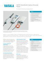 GM70 Handheld Carbon DioxideMeter - 1