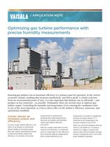 Optimizing gas turbine performance with precise humidity measurements - 1