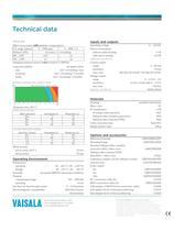 Vaisala CARBOCAP® Carbon Dioxide Probe GMP343 - 2