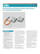 Vaisala CARBOCAP® Carbon Dioxide Transmitter Series GMT220 - 1