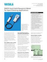 Vaisala DRYCAP® Hand-Held Dewpoint Meter DM70 - 1