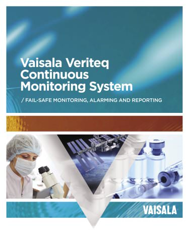 Vaisala Veriteq Continuous Monitoring System