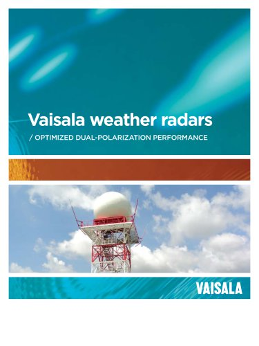 Vaisala weather radars