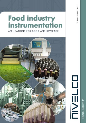 NIVELCO Food Industry Instrumentation