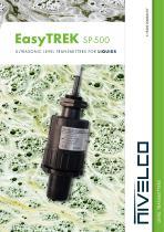 NIVELCO LEVEL TRANSMITTERS - ULTRASONIC INTEGRATED FOR LIQUIDS - EasyTREK SP-500