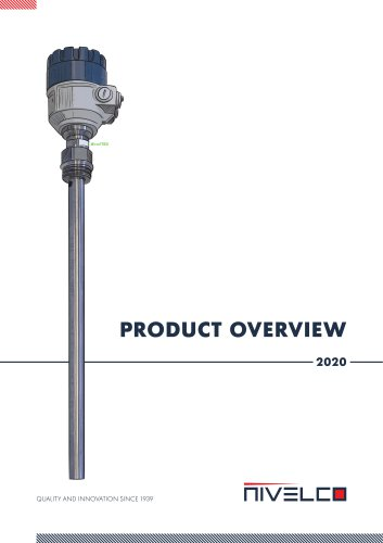 NIVELCO Product Overview 2020