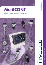 NIVELCO SIGNAL PROCESSING UNITS - MULTICHANNEL PROCESS CONTROLLER - MultiCONT