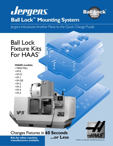 Ball Lock HAAS Fixture Kits