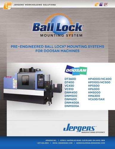 Jergens Ball Lock Selector Guide Doosan