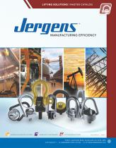 Jergens Lifting Solutions Catalog