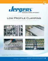 Jergens Low Profile Clamping Catalog