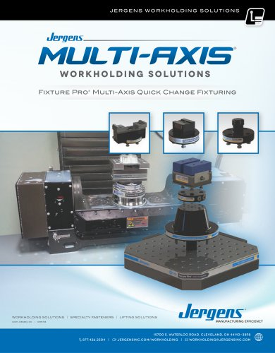 Jergens Multi-Axis Solutions