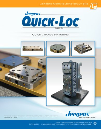 Jergens Quick-Loc Catalog
