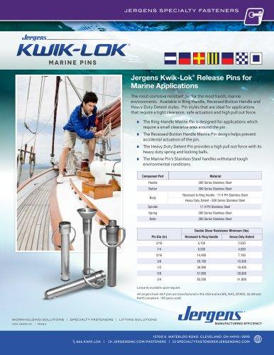 Kwik-Lok® Marine Pins Flyer