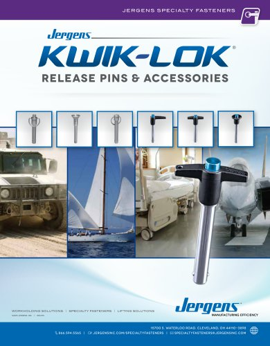 Kwik-Lok® Pins Catalog
