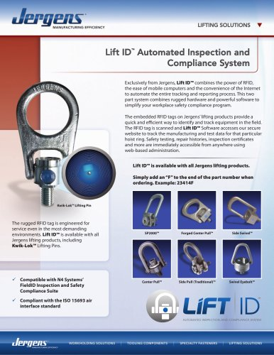 Lift-ID Sheet