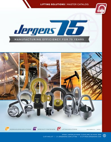 LIFTING SOLUTIONS | MASTER CATALOG